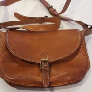 Polo Ralph Lauren vintage unisex messenger bag.